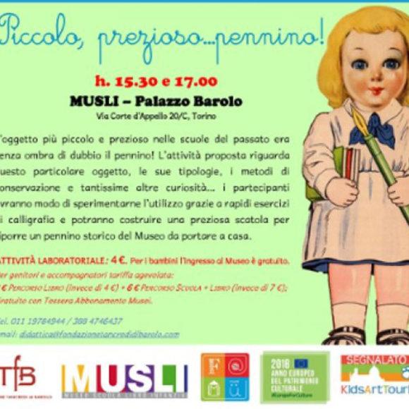 Giornata Nazionale delle Famiglie al Museo – F@MU 2018 al MUSLI