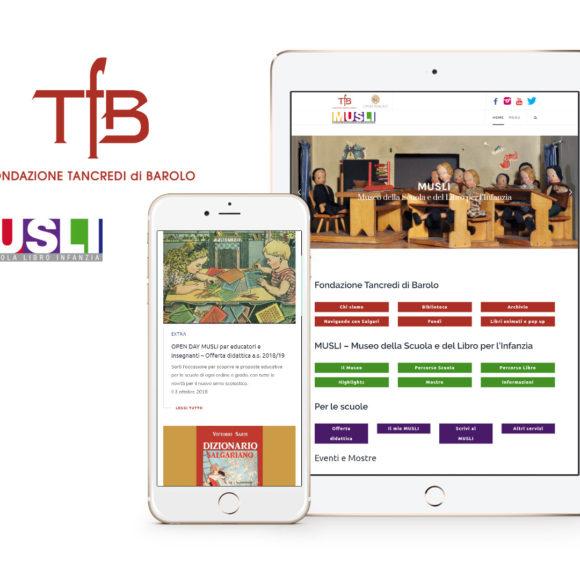 Nuovo sito della Fondazione Tancredi di Barolo