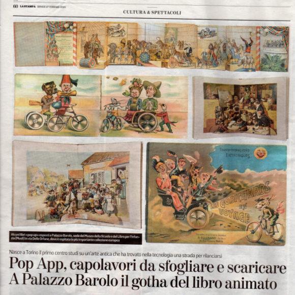 """Articolo """"Pop App, capolavori da sfogliare e scaricare"""""""