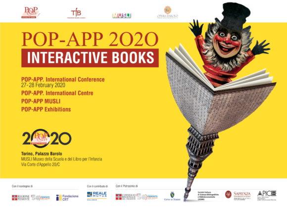 POP-APP 2020. Convegno internazionale e iniziative sul libro animato
