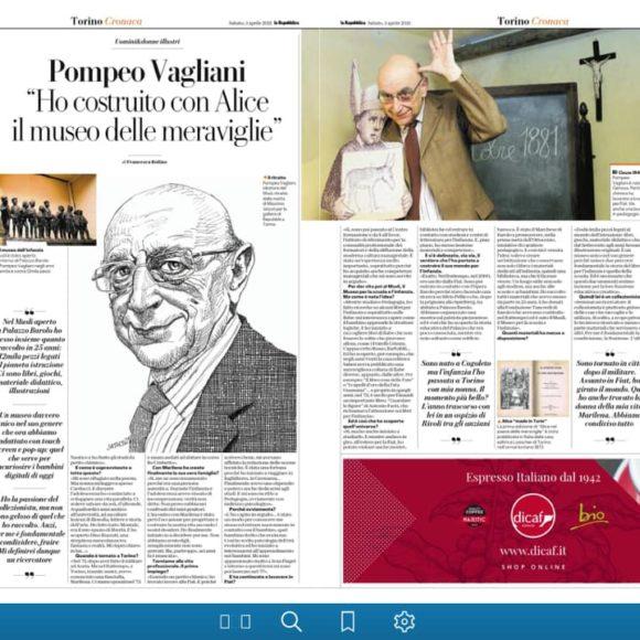 Pompeo Vagliani si racconta