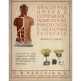 Anatomia umana e comparata – morfologia – fisiologia  e anatomia vegetale