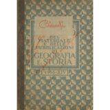 Catalogo del materiale e delle pubblicazioni di geografia e storia