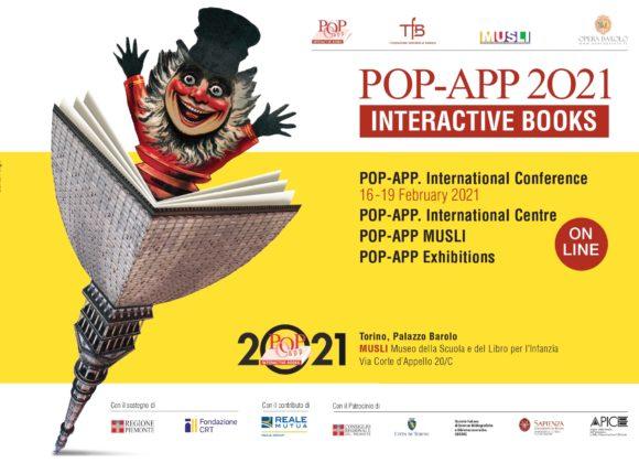 POP-APP 2021. Convegno internazionale e iniziative sul libro animato